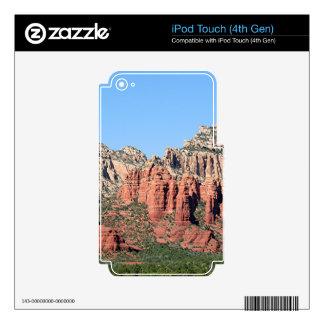 Rocks near Sedona, Arizona,USA 3 Skins For iPod Touch 4G
