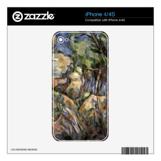 Rocks near the Caves below the Chateau Noir, c.190 Skin For The iPhone 4S