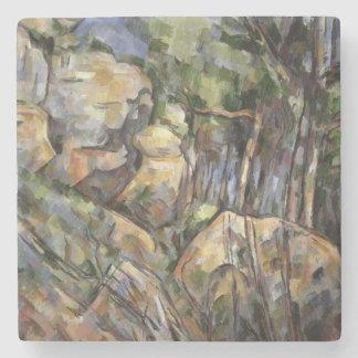 Rocks near the Caves below the Chateau Noir, c.190 Stone Coaster