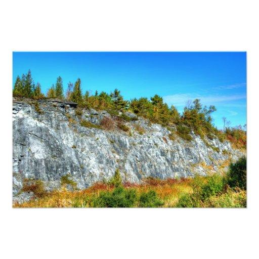 rocks of rockland II Photographic Print
