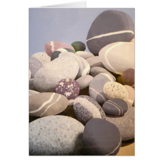 Rocks on the Beach Greeting Cards