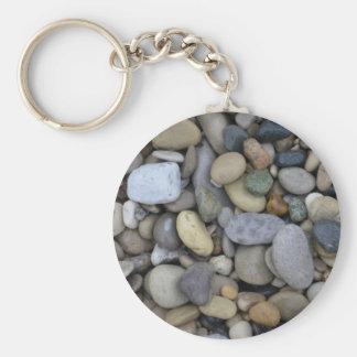 Rocks on the Beach Keychain