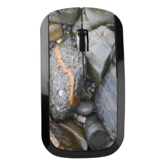 Rocks On The Beach Wireless Mouse
