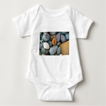 Rocks pattern 1 baby bodysuit