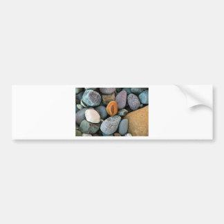 Rocks pattern 1 bumper sticker