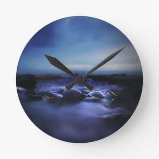 Rocks - Photo by Gabriel Eng Round Clock