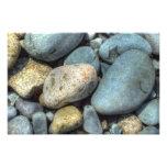 rocks photo print