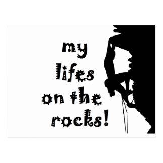 rocks postcard
