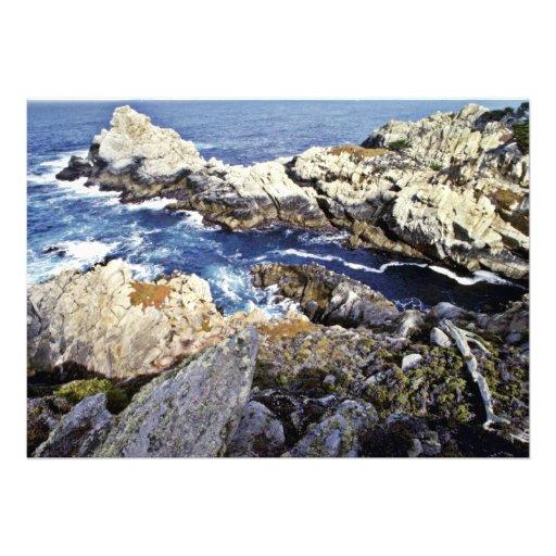 Rocks - Pt. Lobos State Preserve Announcement