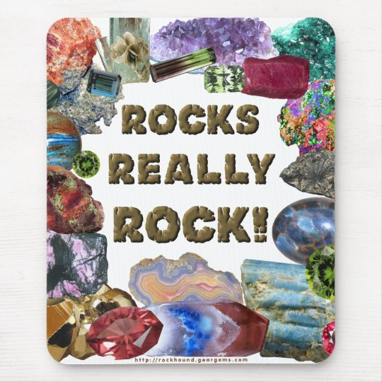 Rocks Really Rock Mouse Pad