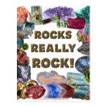 Rocks Really Rock Postcard