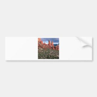 Rocks Red Spires Sedona Arizona Bumper Sticker