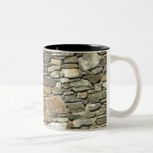 Rocks rock mug natural stone wall zazzle for Natural stone coffee mugs