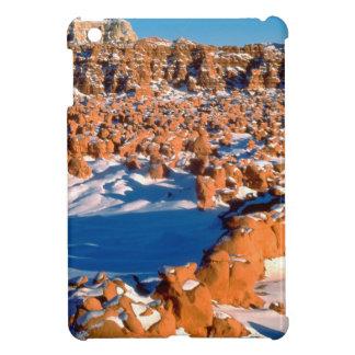 Rocks Snowcovered Goblin Valley Utah iPad Mini Case