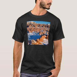 Rocks Snowcovered Goblin Valley Utah T-Shirt