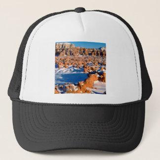 Rocks Snowcovered Goblin Valley Utah Trucker Hat