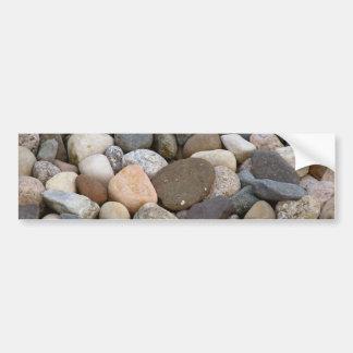 Rocks stones beautiful unique all different photo bumper sticker