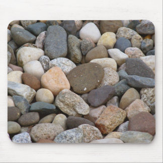 Rocks stones beautiful unique all different photo mouse pad