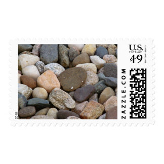 Rocks stones beautiful unique all different photo postage stamps