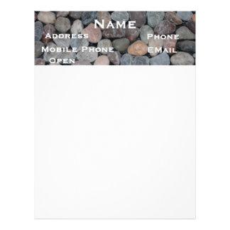 Rocks/Stones/Gravel Letterhead