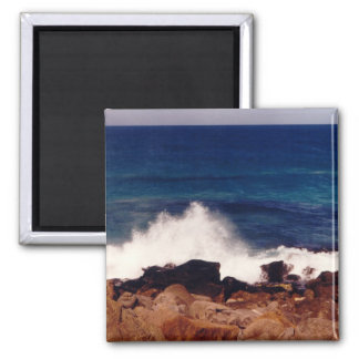 Rocks & Surf Photo Fridge Magnet