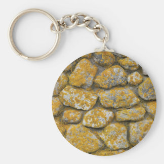 Rocks that don't roll gather moss. keychain