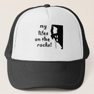 rocks trucker hat