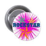 RockStar 2 Inch Round Button