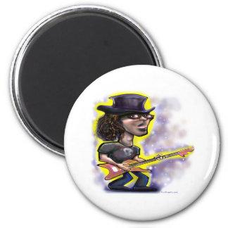 Rockstar 2 Inch Round Magnet