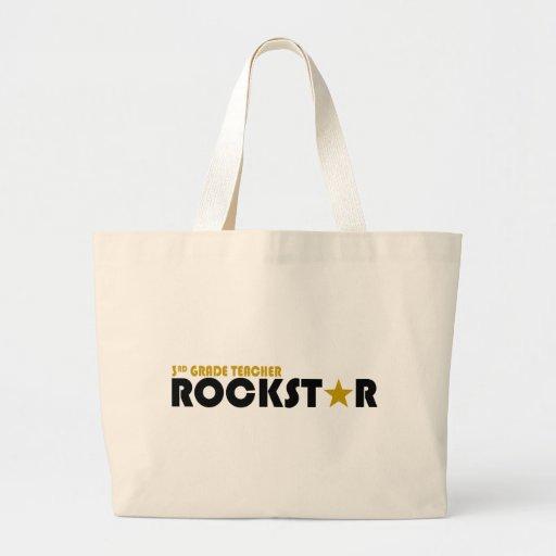 Rockstar - 3rd Grade Teacher Bags