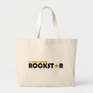 Rockstar - 4th Grade Tote Bag