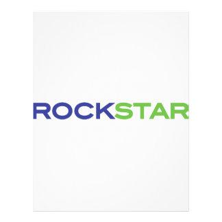 """rockstar azulverde folleto 8.5"""" x 11"""""""