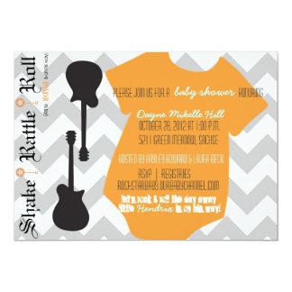 Rockstar Baby Shower Card