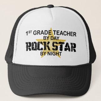 Rockstar by Night - 1st Grade Trucker Hat