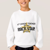 Rockstar by Night - 4th Grade Sweatshirt