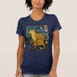 RockStar, camisetas del gato de la pintada