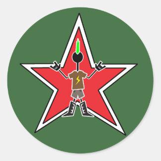 Rockstar Classic Round Sticker
