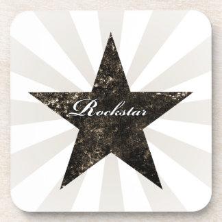 Rockstar Coaster (grunge textures - dark)