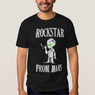 Rockstar de Marte Remeras