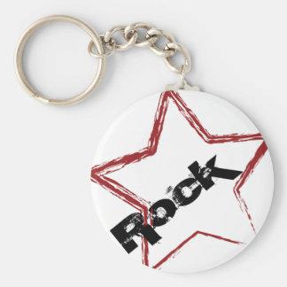 Rockstar Design Keychain