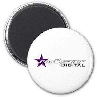 Rockstar Digital Merchandise 2 Inch Round Magnet
