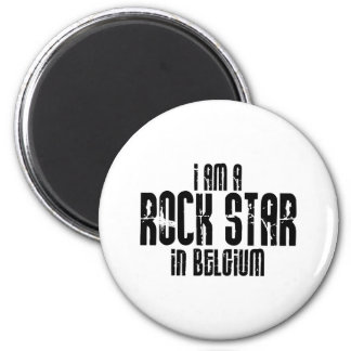 Rockstar en Bélgica Imán Redondo 5 Cm