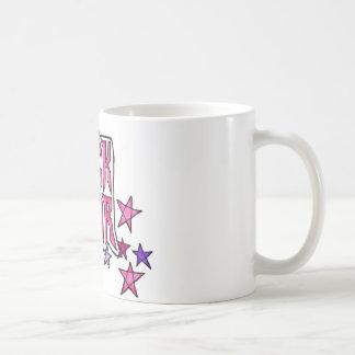 RockStar en rosa Taza Clásica