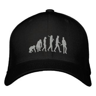 Rockstar Evolution Musician Evolution Rock Music Embroidered Baseball Hat