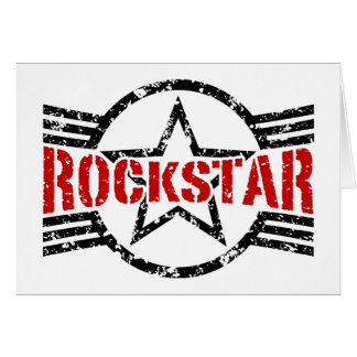 Rockstar Greeting Card