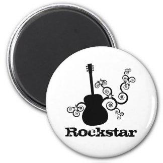 Rockstar Guitar Magnet