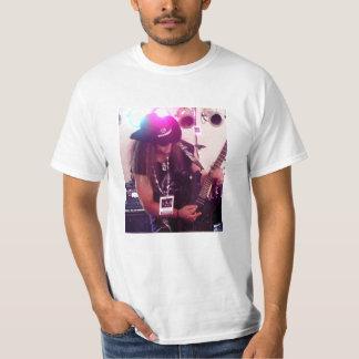 Rockstar Guitarist White T Shirt