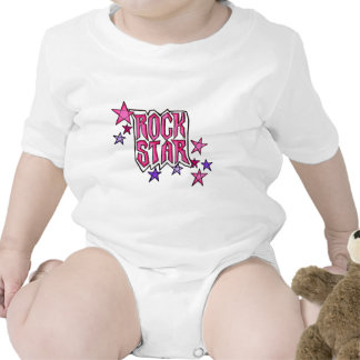 RockStar in PInk Baby Creeper