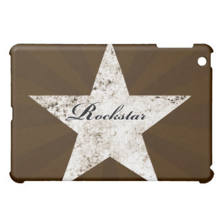 Rockstar iPad Case (grunge textures - light)