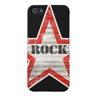 Rockstar iPhone Case (black background) Cover For iPhone 5